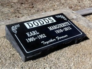 Pillow Double - Black Granite | Haywards Funerals